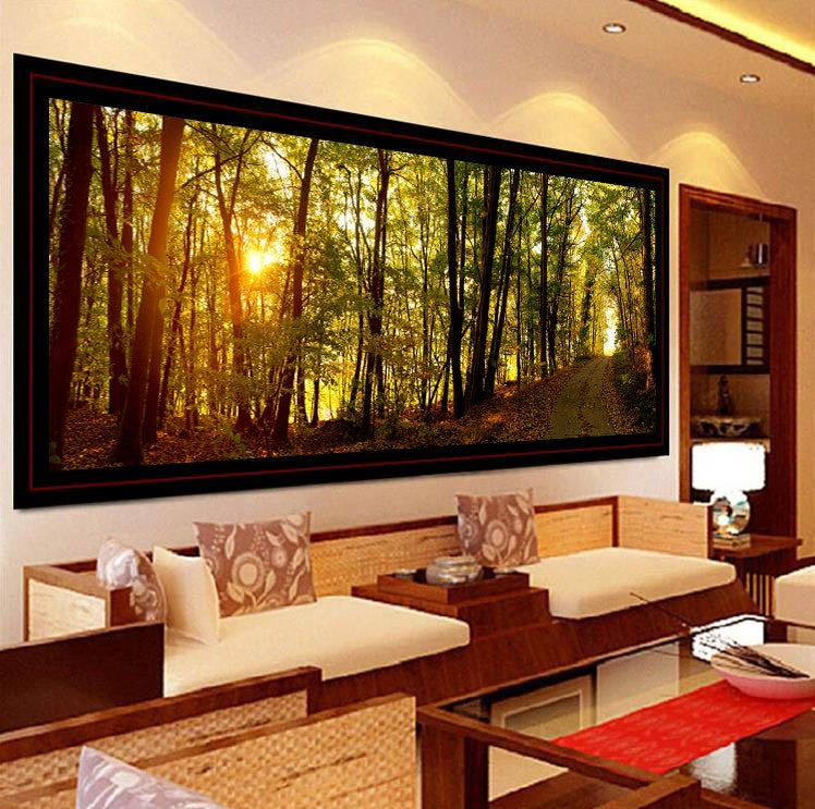 5D DIY Diamond Painting Forest Wall Painting Home Decor