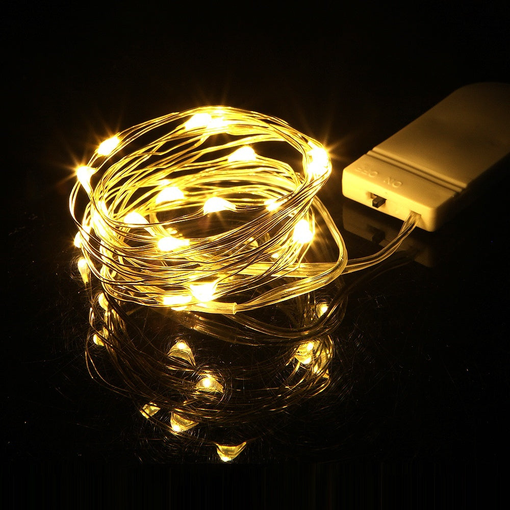 1M 2M 3M Garland Decorative Light Christmas Wedding Party Decoration LED String Fairy Lights