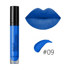 Load image into Gallery viewer, 15 Colors Sexy Super Matte Colorstay Lipstick Lip Gloss Makeup for Women Lady Girls(color:black,violet,blue)
