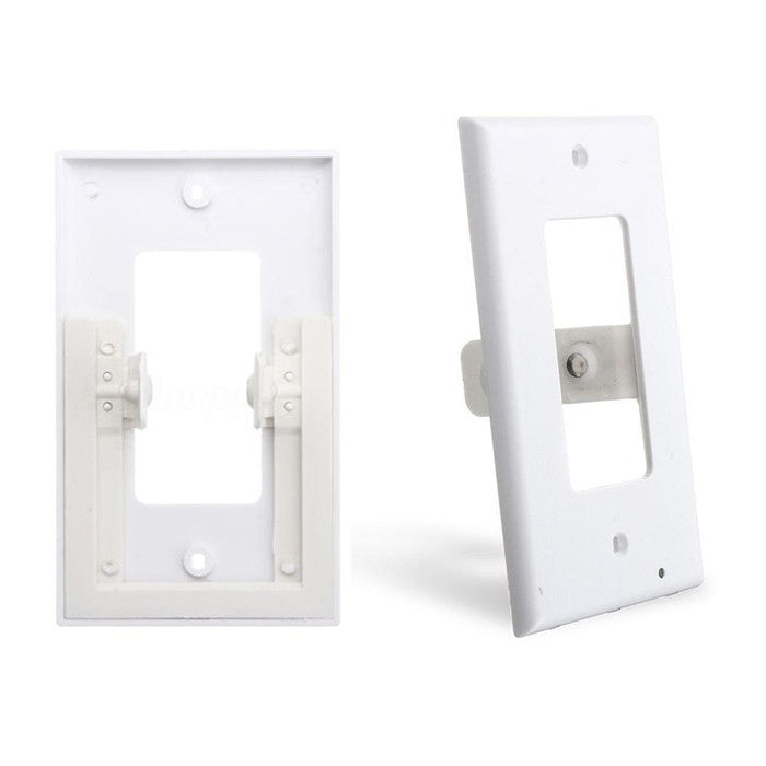 Plug Cover Led Light Sensor Night Angel Wall Outlet Face Hallway Coverplate Switch Panel Cover