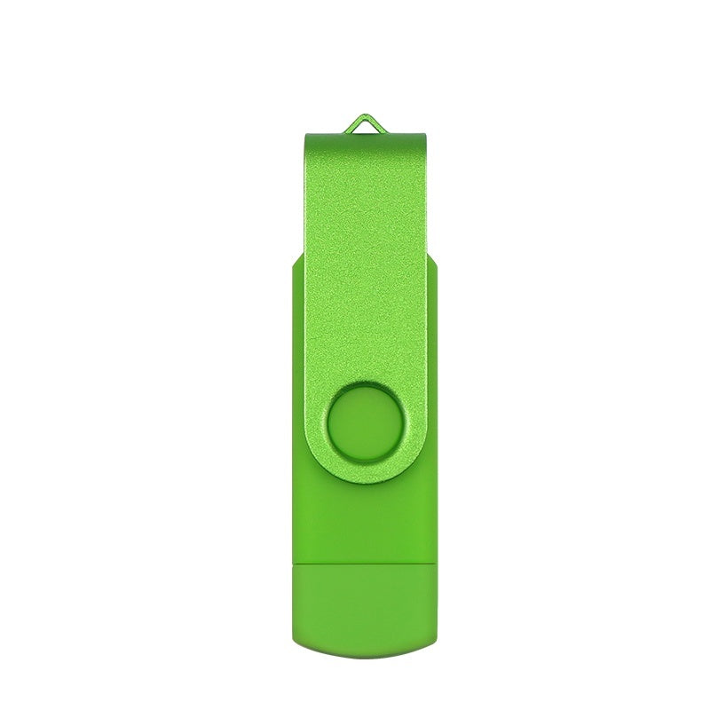 Real Capacity Metal rotation OTG usb flash drive pen drive 8GB 16gb 32gb 64gb micro usb2.0 Smart Phone pendrive external storage Memory stick for Android mobile phone