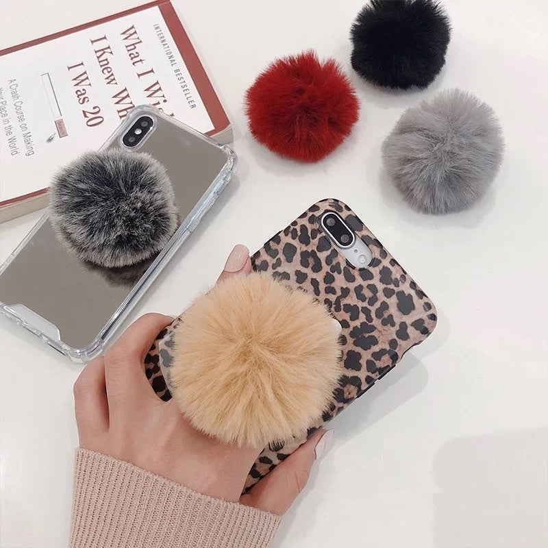 2019 New Cute Universal Lazy Mobile Phone Holder Accessory cute Plush Colorful Adjustable Cell Phone Tablet Desktop Holder Stand
