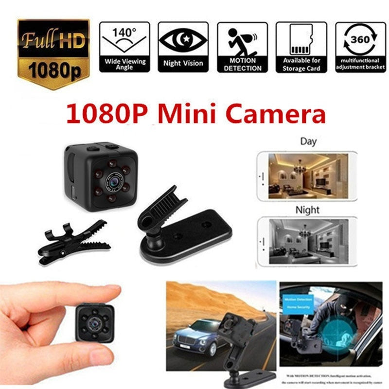 Mini Micro HD Camera Dice Video USB DVR Recording Sports Camera