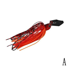 Fishing Chatter Bait Spinner Bait Fishing Lure Buzzbait Chatter Bait Artificial Rubber Skirt Chatterbait for Bass