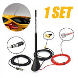 Universal Roof Mount Active Amplified DAB + FM Radio Car Antenna Aerial Mast