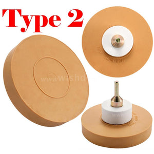 Rubber Universal Eraser Wheel Strip Off Wheel Pinstripe Double Sided Adhesive Vinyl Decal Graphic Removal Tool Repairing Tool