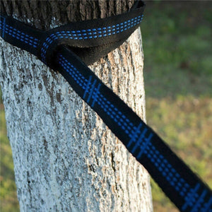 2 Pcs 200cm Adjustable Outdoor Tree Hanging Yoga Hammock Straps Rope Belt