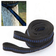 Load image into Gallery viewer, 2 Pcs 200cm Adjustable Outdoor Tree Hanging Yoga Hammock Straps Rope Belt