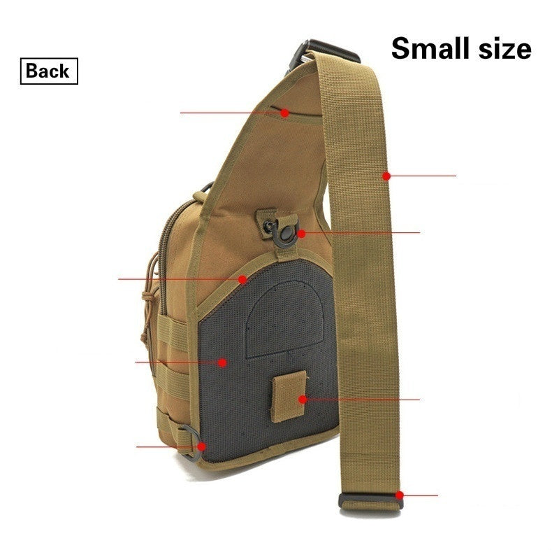 2019 Military Tactical Assault Pack Sling Backpack Army Molle Waterproof EDC Rucksack Bag for Outdoor Hiking Camping Travel Bag
