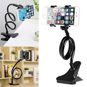 Universal Lazy Bed Desktop Car Stand Mount Long Arm Holder For Cell Phone  QP
