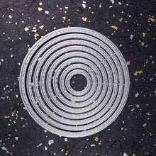 Load image into Gallery viewer, Round Circle Metal Carbon Steel Cutting Dies Stencils for DIY Scrapbooking Album Paper Card Decorative Crafts Die Cuts