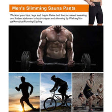 Load image into Gallery viewer, 1Pc Men Compression Neoprene Shorts Slimming Shaper Wear Sweat Pant