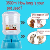 3.5L Large Capacity Pet Drinking Water / Automatic Feeding Pet Supplies