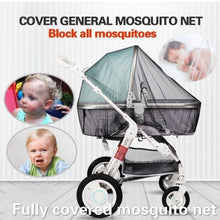 Load image into Gallery viewer, Multifunctional Infants Baby Stroller Pushchair Anti-Insect Mosquito Net Large Size Cribs Safe Full Mesh Cover