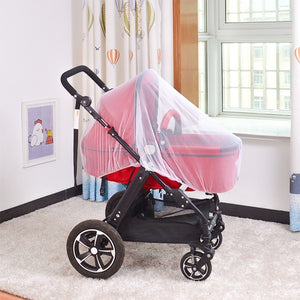 Multifunctional Infants Baby Stroller Pushchair Anti-Insect Mosquito Net Large Size Cribs Safe Full Mesh Cover