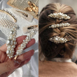 Korea Style Pearls Hair Pins Set for Women Lady Girls Hair Clip Pin Barrette Headwear Hairpins Hair Accessories Hair Ornament