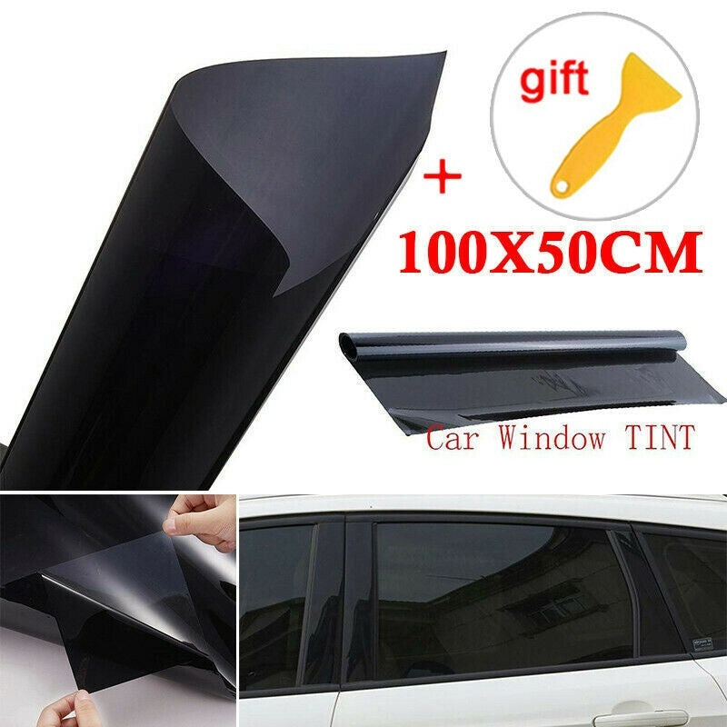 VLT 5% Uncut Roll 39' X 20 FT Window Tint Film Charcoal Black Car Glass Office