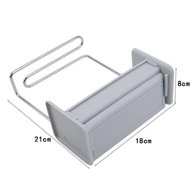 Kitchen Draining Sink Box Multifunctional Organizer Stands Tidy Utensils Towel Holders Free Punching