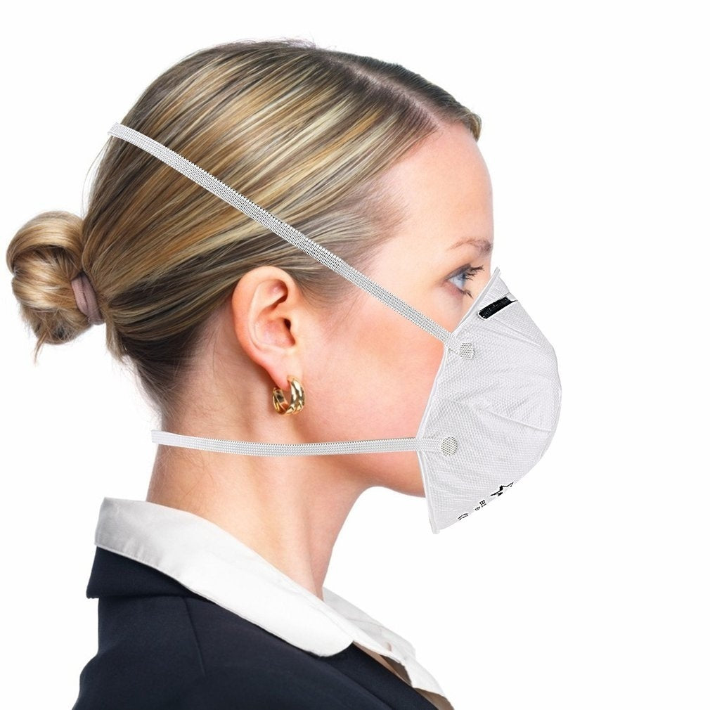 Professional FP2 Disposable Professional Health Care Accessories Non-Woven Anti Fog Anti Haze Mouth-muffle Mask Eco- friendly