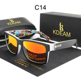 Men Polarized Sunglasses UV400 Sun Glasses Outdoor Sports Sunglasses for Men With Case