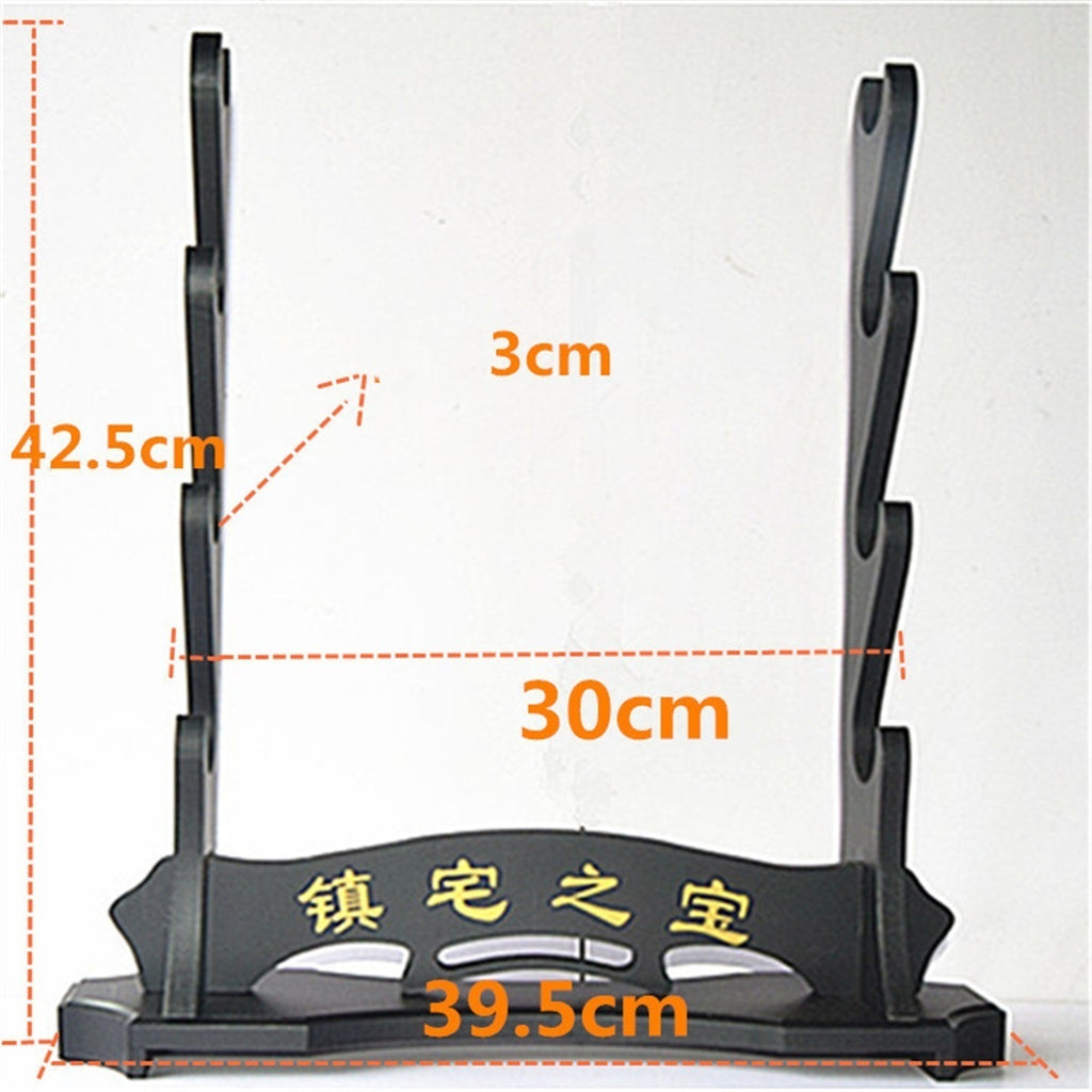1-/4 Layer Wooden Samurai Sword Katana Holder Stand Rack New