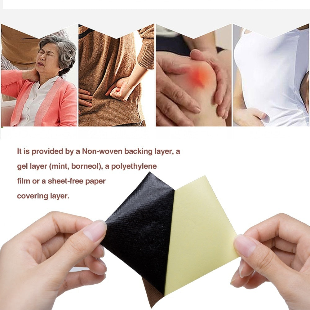 Sumifun 8-128Pcs Arthritis Joint Pain Rheumatism Shoulder Patch Knee/Neck/Back Orthopedic Plaster Pain Relief Stickers