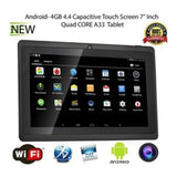 New 7 Inch Tablet Computer PC Quad Core A33 WiFi Flat Computer