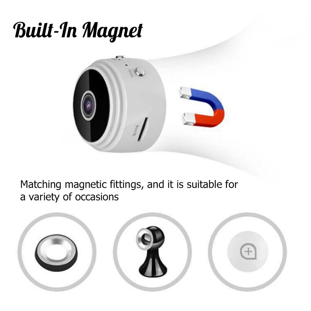 6 Infrared Night Vision LED Mini Camera Wifi HD 1080P Wireless Security Cam Motion Detection
