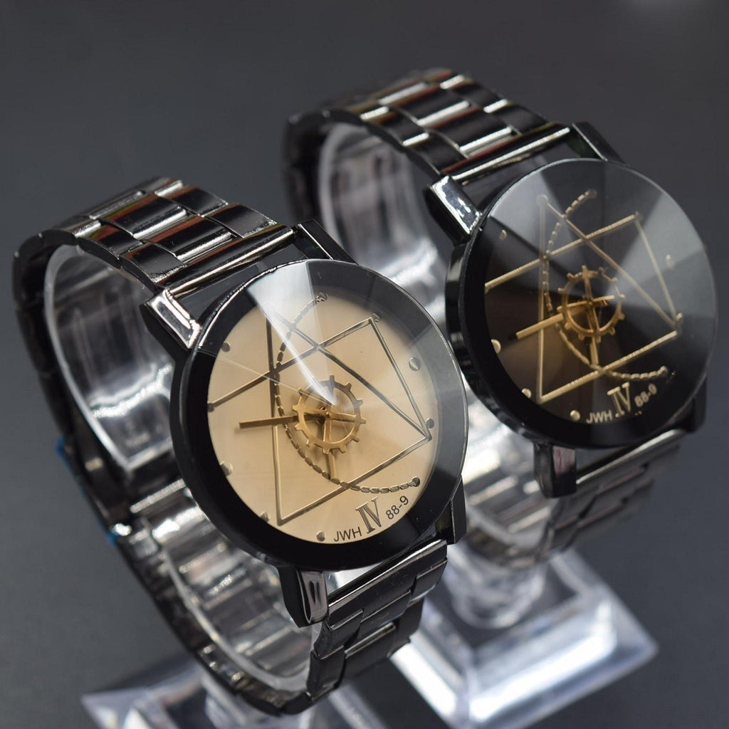 New Arrivals Women Men Dress Watches Steel Lover Mechanical Casual Couple Watch Lover Black Watches