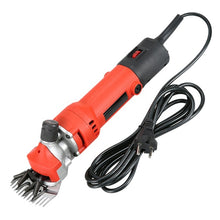 Load image into Gallery viewer, 1000W 220V Sheep Goat Shearing Machine Trimmer Tool 6 Gears Speed Electric Wool Scissor Cut Machine Goats Alpaca Pet Shears Machine EU Plug