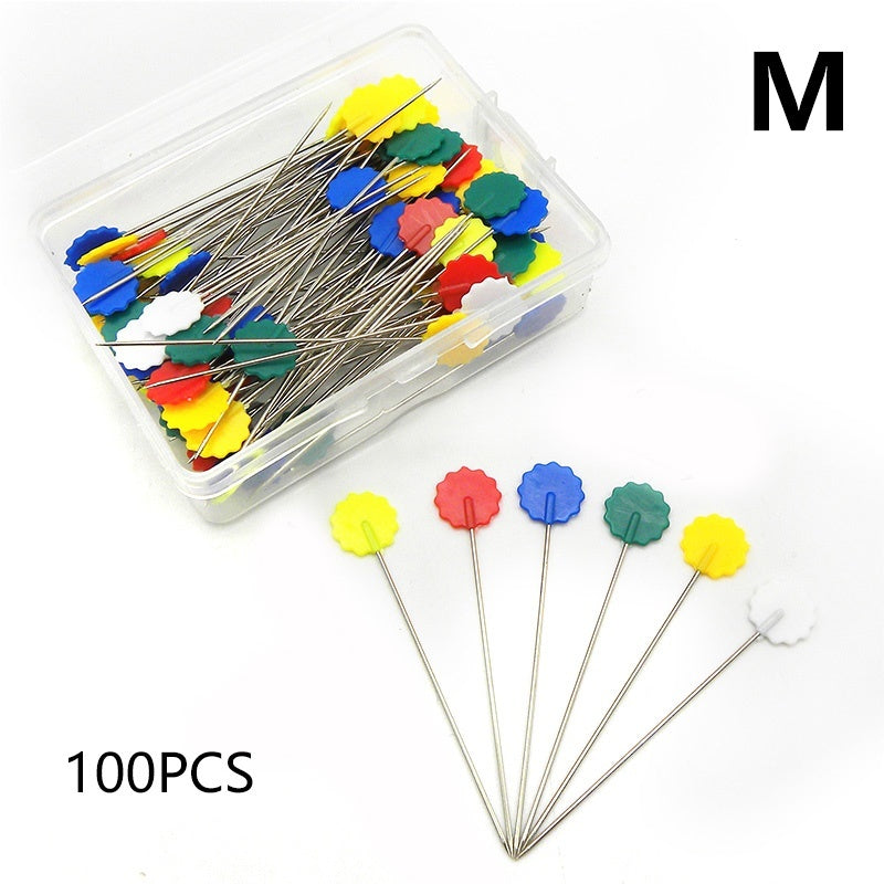 50/ 100pcs DIY Tools Patchwork Sewing Pins Embroidery Accessories Needle Craft Quilting