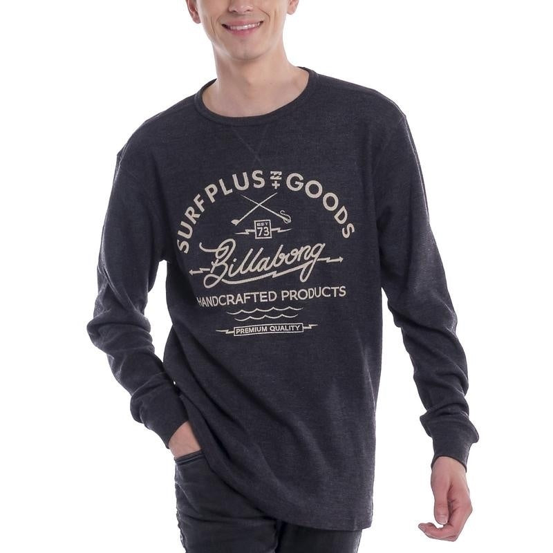 Billabong Surfplus Goods Graphic Long Sleeve Thermal Shirt Mens