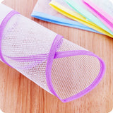 2pcs High Temperature Ironing Scorch Heat Insulation Pad Mat Household Mesh Cloth Random Color