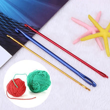 Load image into Gallery viewer, 1pc/3pcs Knitting Accessories Aluminum Crochet Needle Knit Tool Knitting Handmade Crochet Hook