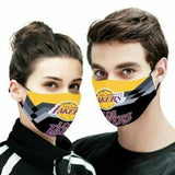 Los Ang3les Lakers - Reusable Face Coverings Unisex Adult Mouth Cover Face Covering