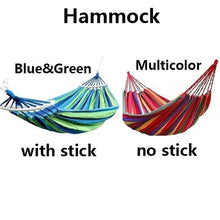 Load image into Gallery viewer, Garden Hanging Chair Capacity Colorful Hanging Fabric Hammock Chair Swing Outdoor Seating Camping Garden