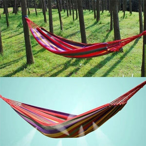 Garden Hanging Chair Capacity Colorful Hanging Fabric Hammock Chair Swing Outdoor Seating Camping Garden