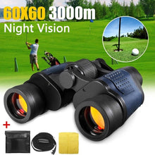 Load image into Gallery viewer, 60x60 3000M Binoculars Optical Night Vision HD Waterproof Miltary Hunting Binoculars Telescope For Outdoor Hunting Camping