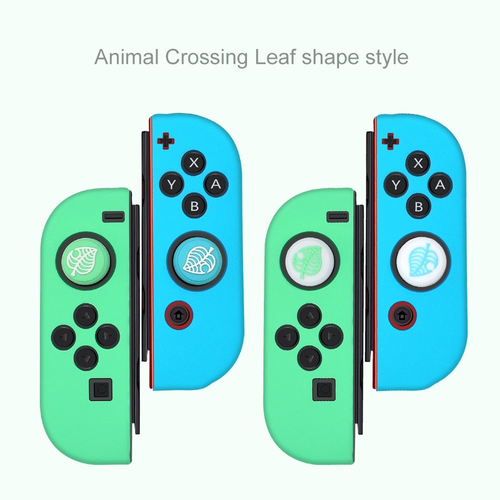Animal Crossing Silicone Joystick Thumb Grip Caps NS Game Console Rocker Protective Caps for  Switch/Switch Lite