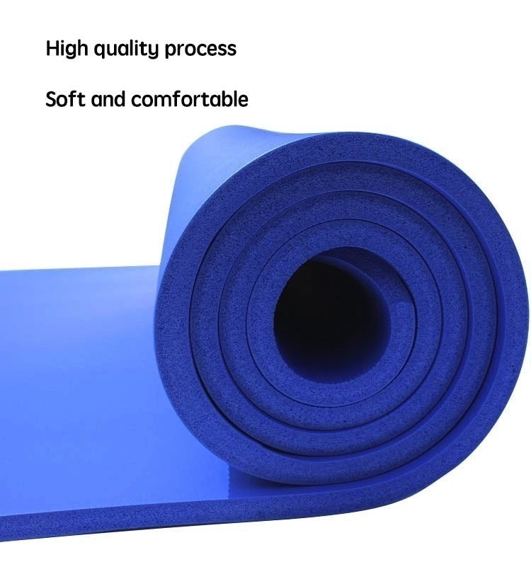 Non-slip Yoga Mats for Fitness Mat Tasteless Pilates Gym Exercise Thickening Fitness Sports Pad Supporting DIY Print