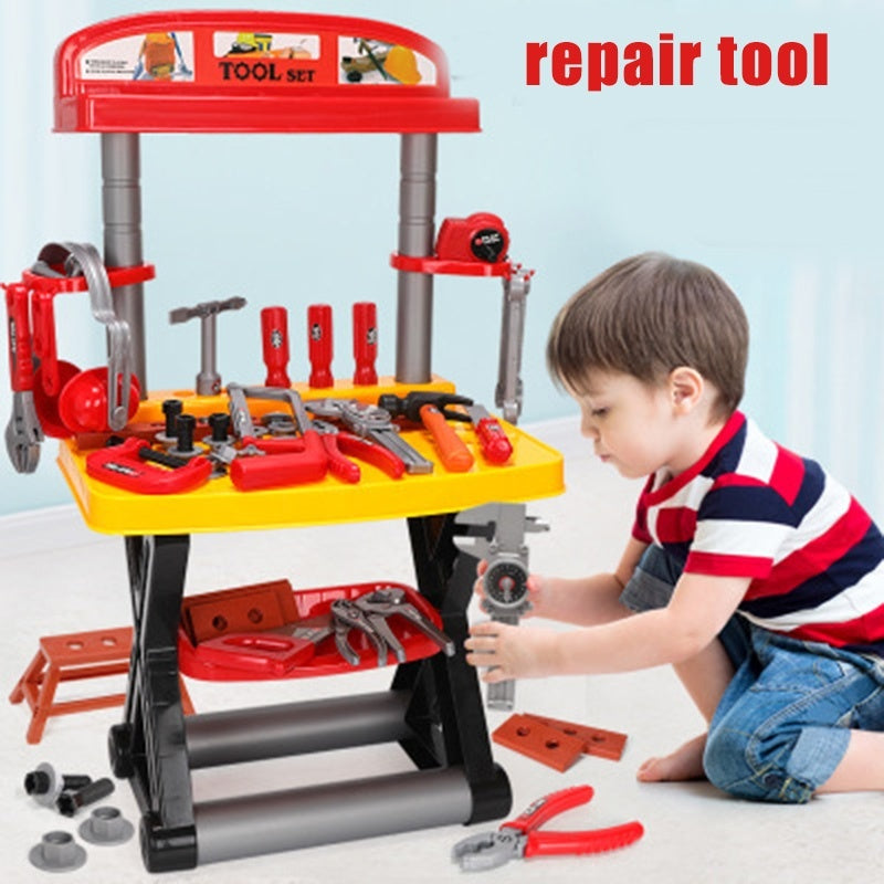 Play Repairing Tool Toy Set for Kids Screwdriver Roleplay Toddler Playhouse Game for Children