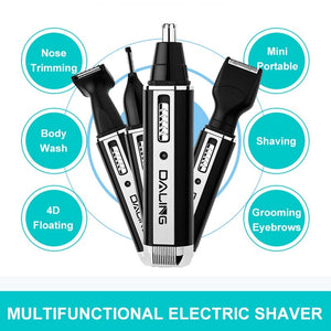 New Professional 4 IN 1 Electric Nose Hair Trimmer Multi-function Razor Eyebrow Trimmer for Men and Women