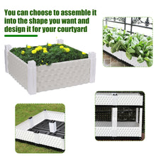 Load image into Gallery viewer, Balcony Vegetable Planting Box Rectangular Home Roof Vegetable Plants Growing Bag Raised Plant Bed Garden Flower Planter Elevated Vegetable Box