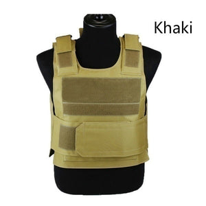 US Army Military Tactical Vest Anti Stab Hard Self-Defense Clothing Bullet-proof Tactical Vest