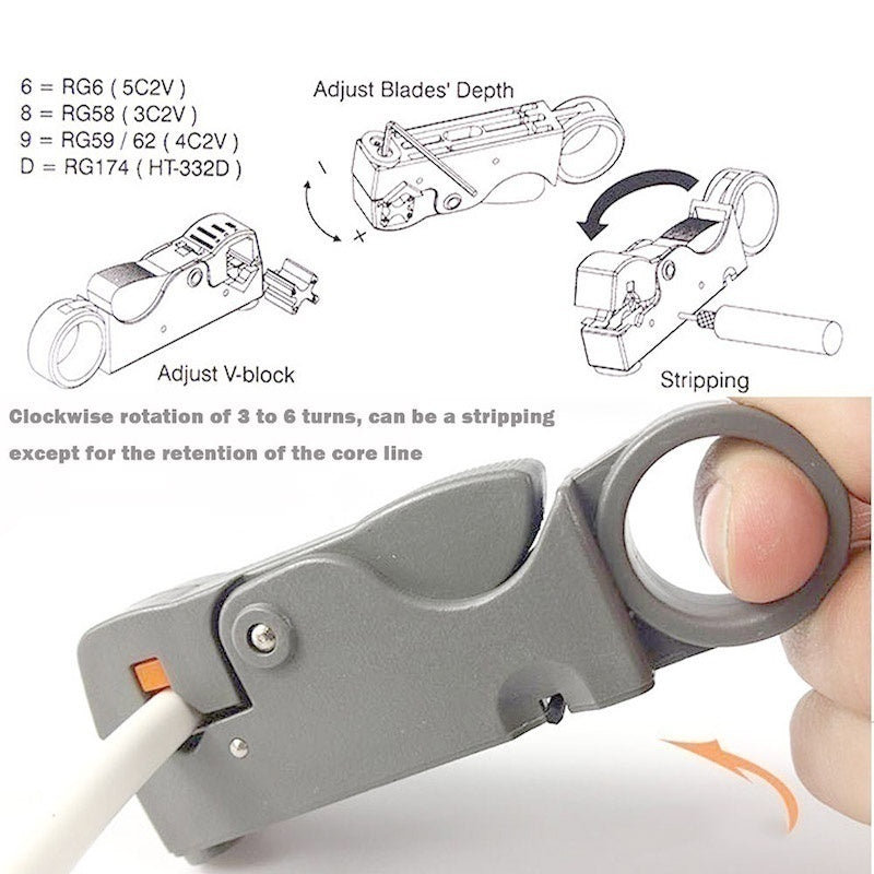 Automatic Stripper Cable Cutters Auto Matic Stripping Pliers Wire Stripper Wire Cable Tools