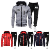 Jogging Suits Zipper Jacket And Sweatpant Tracksuit Fashion Mens  Pullover Hoodie