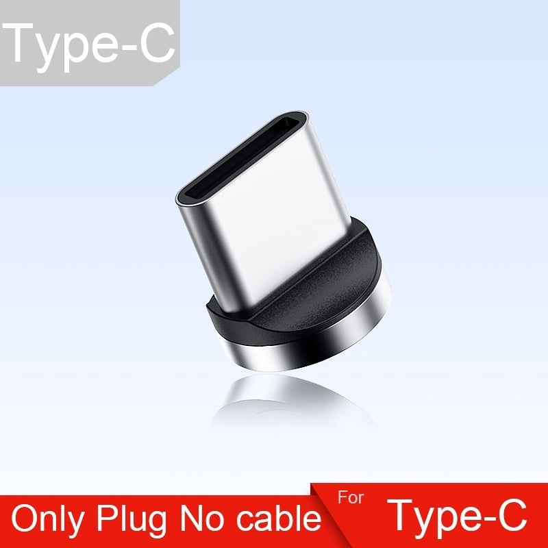3A Magnetic Fast Charging & Data Transfer Cable Micro Usb Type C ios  Cable
