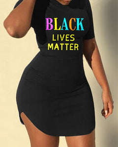 Black lives matter dress