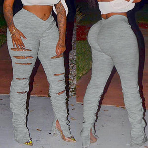 Keyshia grey sweatpants