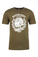 BergBlades Military Green T-Shirt